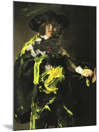Yellow Vanguard II-PI Studio-Mounted Art Print