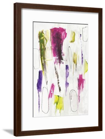 colour splash I-PI Studio-Framed Art Print