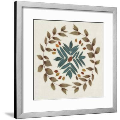 Wreath IV-Edward Selkirk-Framed Art Print