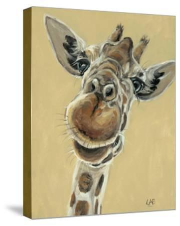 Hey, You Down There-Louise Brown-Stretched Canvas Print