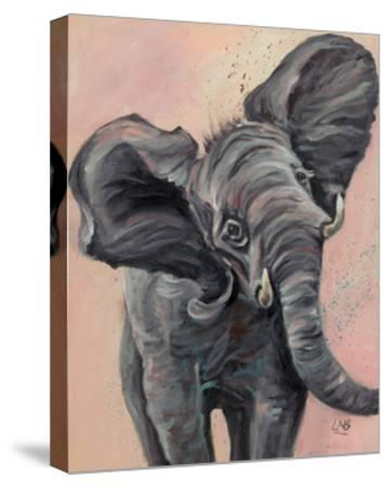Big Ears-Louise Brown-Stretched Canvas Print