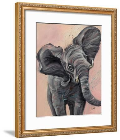 Big Ears-Louise Brown-Framed Art Print