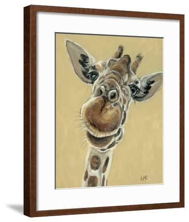 Hey, You Down There-Louise Brown-Framed Art Print