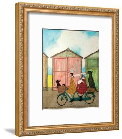 There may be Better Ways to Spend an Afternoon-Sam Toft-Framed Art Print