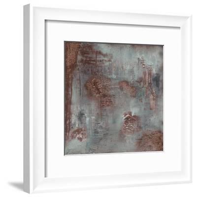 Copper & Coal-Soozy Barker-Framed Art Print