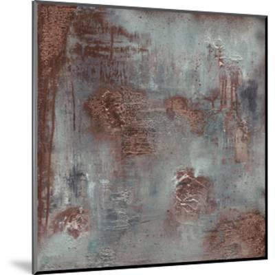 Copper & Coal-Soozy Barker-Mounted Art Print