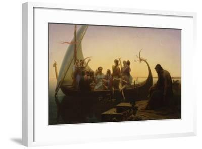 Lost Illusions, 1865-67-Charles Gleyre-Framed Giclee Print