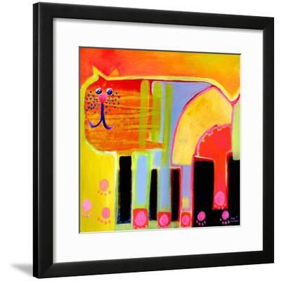 Kurt the Cat-Susse Volander-Framed Art Print