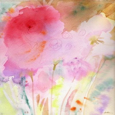 Pink Whisper-Sheila Golden-Framed Art Print