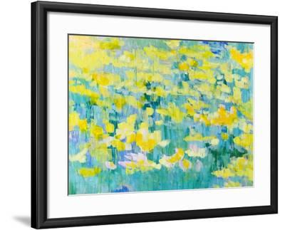 And They Were All Yellow-Tamara Gonda-Framed Art Print