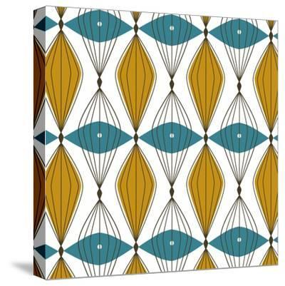 Atomic Art 2-Rachel Cave-Stretched Canvas Print