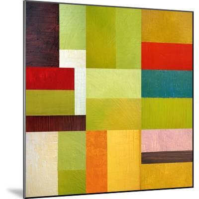 Color Study Abstract 1-Michelle Calkins-Mounted Art Print