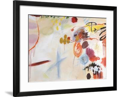 Catching Bubbles-Kyoko Fischer-Framed Art Print