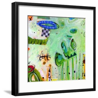 Ms. Alice & Peep's Long Story No.9-Gina Cochran-Framed Art Print