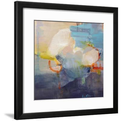 Above the Clouds-Lina Alattar-Framed Art Print