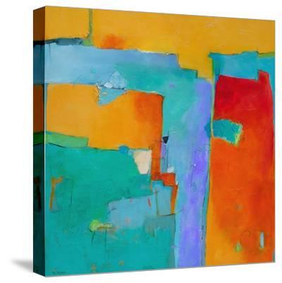 Shades of a City-Dorothy Gaziano-Stretched Canvas Print