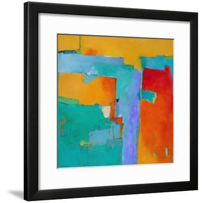 Shades of a City-Dorothy Gaziano-Framed Art Print