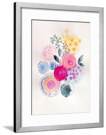Candy Garden-Victoria Johnson-Framed Art Print