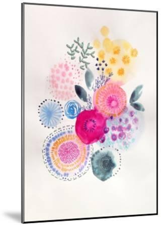 Candy Garden-Victoria Johnson-Mounted Art Print