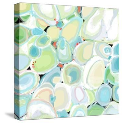 Mint Cocktail-Jan Weiss-Stretched Canvas Print