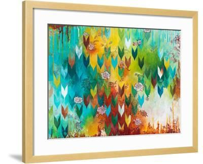 The Key to Happiness-Heather Noel Robinson-Framed Art Print