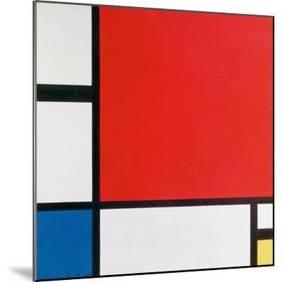 Composition II in Red, Blue, and Yellow-Piet Mondrian-Mounted Art Print