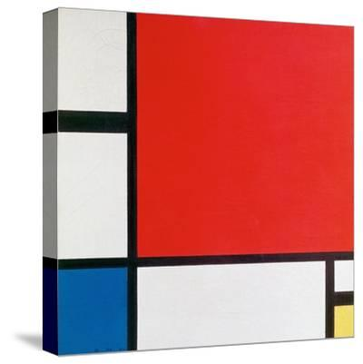 Composition II in Red, Blue, and Yellow-Piet Mondrian-Stretched Canvas Print