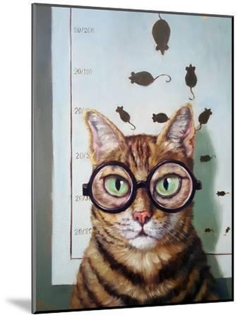 Feline Eye Exam-Lucia Heffernan-Mounted Art Print