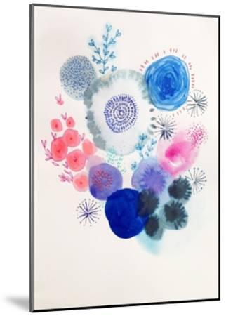Water Bloom-Victoria Johnson-Mounted Art Print