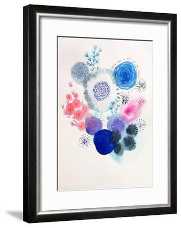 Water Bloom-Victoria Johnson-Framed Art Print