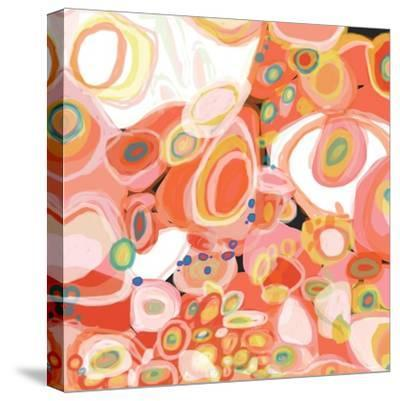 Watermelon Cocktail-Jan Weiss-Stretched Canvas Print