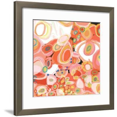 Watermelon Cocktail-Jan Weiss-Framed Art Print