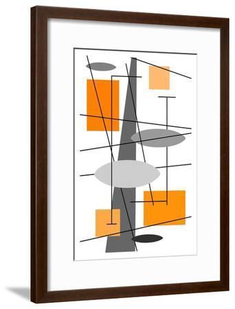 Rauth in Orange-Tonya Newton-Framed Art Print