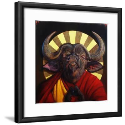 Holy Cow II-Lucia Heffernan-Framed Art Print