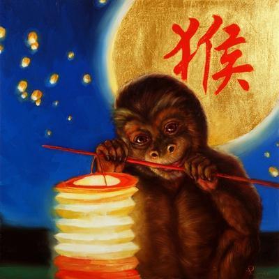 Monkeyshine-Lucia Heffernan-Framed Art Print