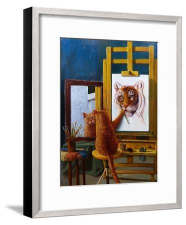 Norman Catwell-Lucia Heffernan-Framed Art Print
