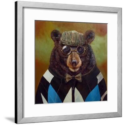 Papa Bear-Lucia Heffernan-Framed Art Print
