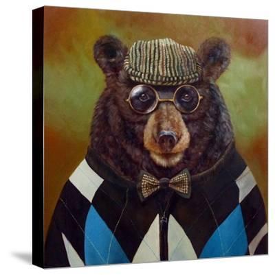 Papa Bear-Lucia Heffernan-Stretched Canvas Print