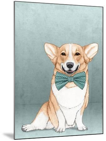 Corgi Dog-Barruf-Mounted Art Print