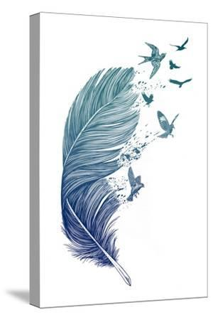 Fly Away-Rachel Caldwell-Stretched Canvas Print