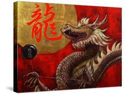 Yoyo Master-Lucia Heffernan-Stretched Canvas Print