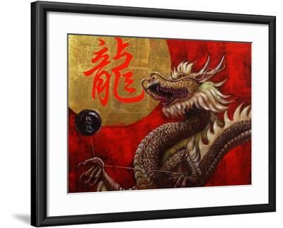 Yoyo Master-Lucia Heffernan-Framed Art Print