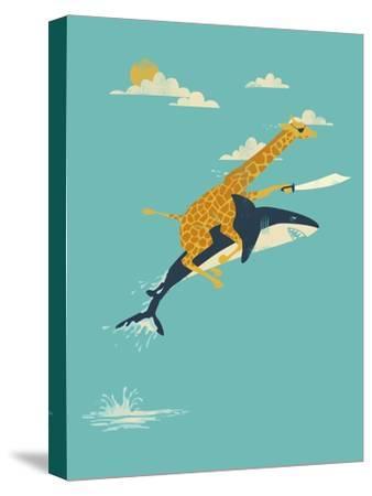 Onward!-Jay Fleck-Stretched Canvas Print