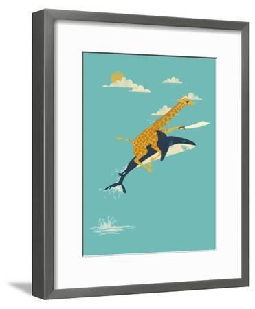 Onward!-Jay Fleck-Framed Art Print