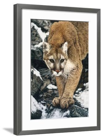 Silent Approach-Jan Henderson-Framed Art Print