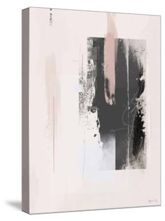 Free Spirit-Green Lili-Stretched Canvas Print