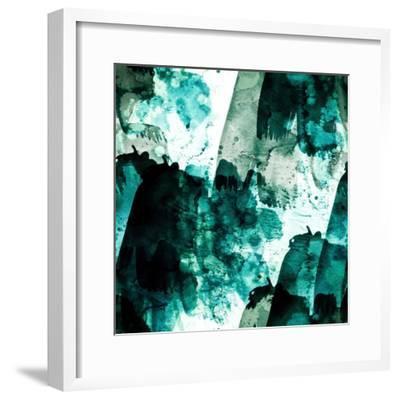 Emerald and Moss Green-Iris Lehnhardt-Framed Art Print