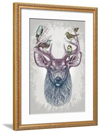 Magic Buck-Rachel Caldwell-Framed Art Print