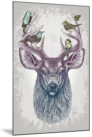 Magic Buck-Rachel Caldwell-Mounted Art Print