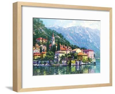 Reflections of Lake Como-Howard Behrens-Framed Art Print